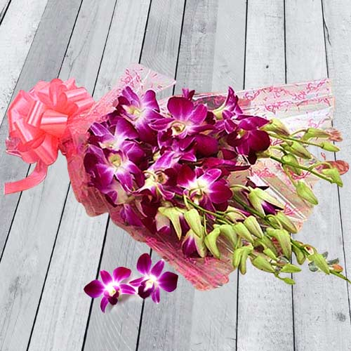 Delightful Orchids Bouquet