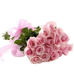 Sensational Hand Bunch of Two Doz Pink Roses
