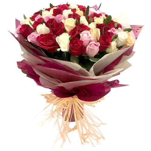 Premium Mixed Rose Bouquet