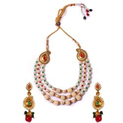 Marvelous Pearl Necklace Set