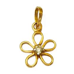 Anjali�s Lively Shimmer (18K) Diamond Pendant