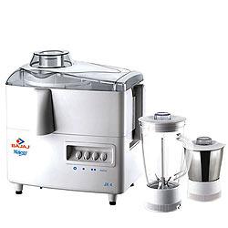 Cool Bajaj Majesty Juicer Mixer Grinder with 1L Stainless Steel Grinding Jar