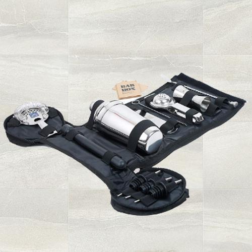 Chic Portable Travel Bar Kit