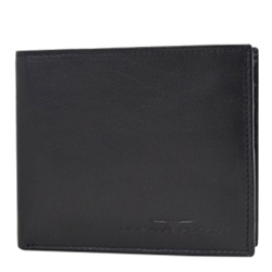 Alluring Leather Gents Wallet in Black