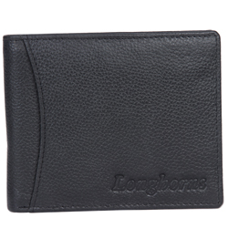 Classic gents wallet of leather from longhorn