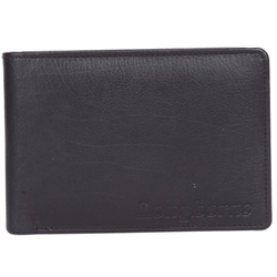 Exquisite Longhorns Gents Wallet in Black