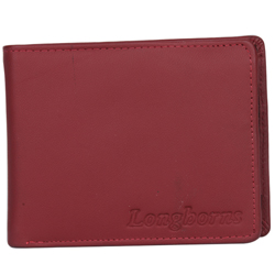Dashing Longhorn Gents Wallet Made of Genuine Leather