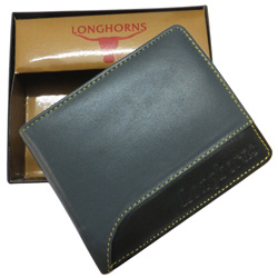Lovely Black Color Gents Wallet from Longhorns