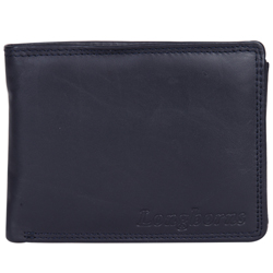 Marvelous Black N Red Coloured Gents Leather Wallet