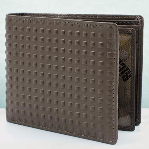 Dashing Brown Color Leather Wallet for Him