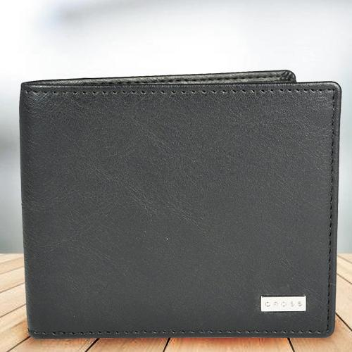 Alluring Black Mens Leather Wallet from Cross