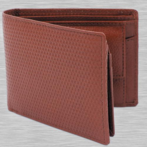 Marvelous Maroon Color Mens Leather Wallet