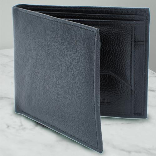 Fantastic Black Color Leather wallet for Men