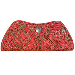 Remarkable Stone Studded Clutch
