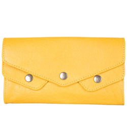Marvelous Yellow Ladies Wallet from Titan Fastrack