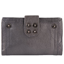 Remarkable Leather Grey Wallet for Women