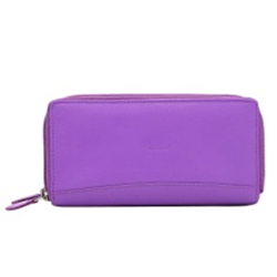 Marvelous Purple Ladies Leather Wallet