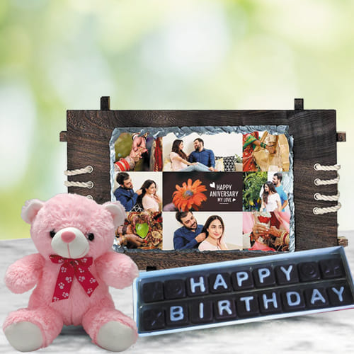 Remarkable Personalized Birthday Presents Gift Combo