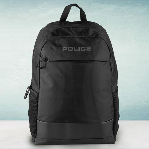 Amazing Mens Black Bag-Pack from Police