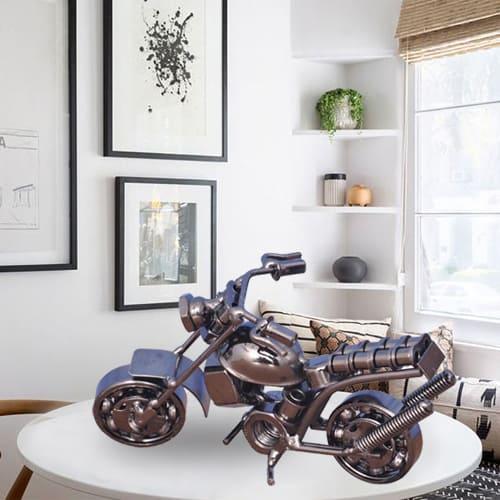 Classy Metal Handmade Vintage Motor Bike