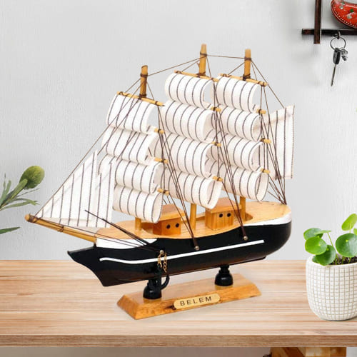 Remarkable Sailing Ship Showpiece