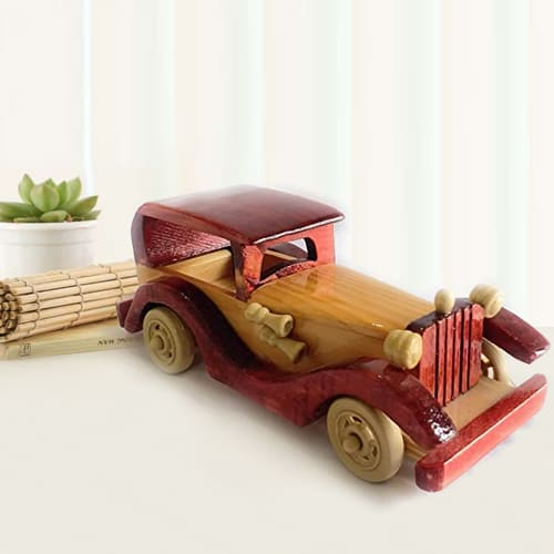 Classy Vintage Vehicle Wooden Car Toy