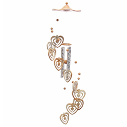 Marvelous Heart Shaped Wind Chime