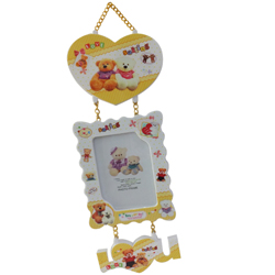 Teddy Bear Swaying Photo Frame