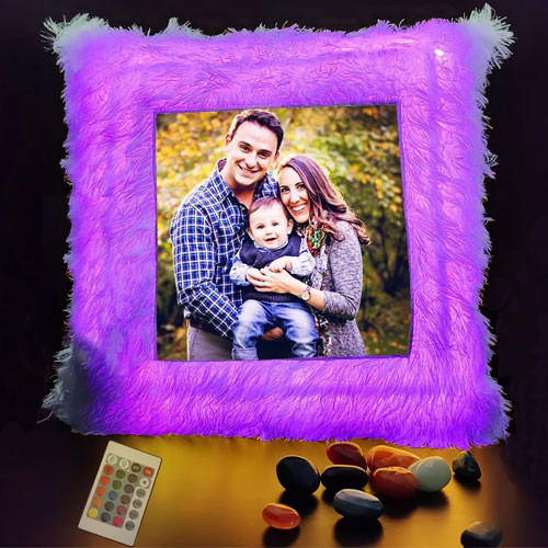 Exquisite Personalized LED Cushion