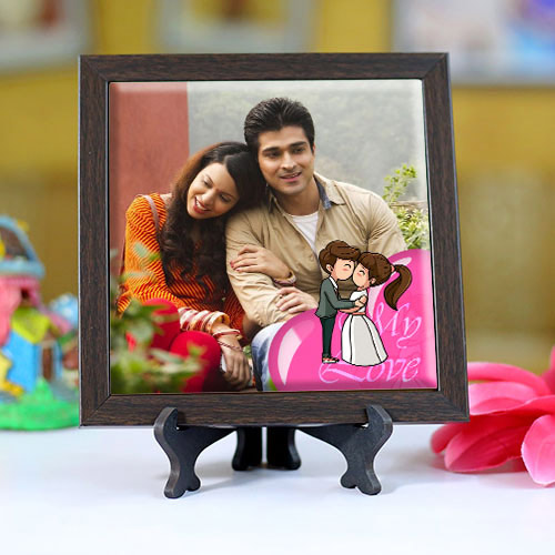 Amazing Personalized Photo Square Tile
