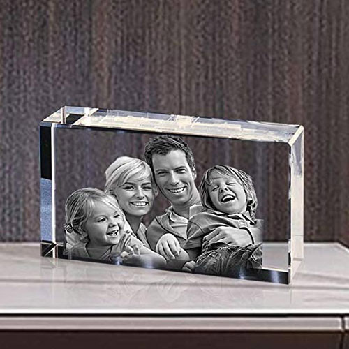 Special Personalized Rectangular Glass Paper Weight