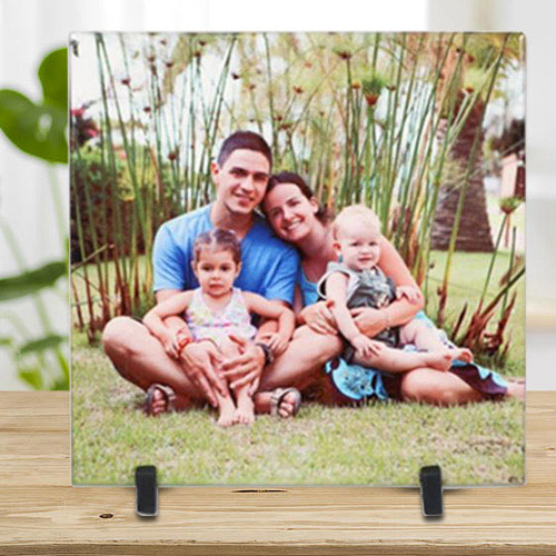 Special Personalized Photo Tile (Square)