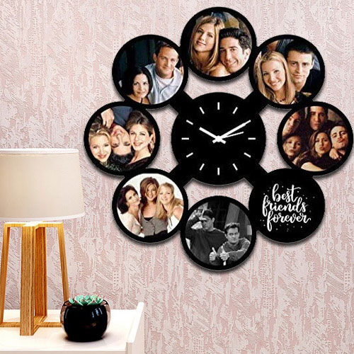 Magnificent Personalized Photo Wall Clock