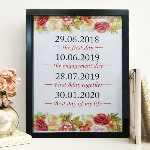 Wonderful Date Frame