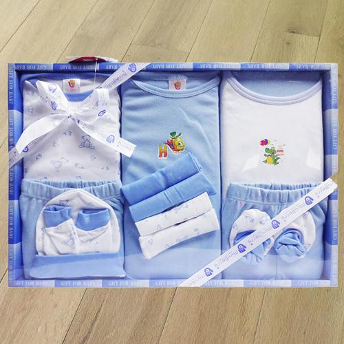 Amazing Cotton Clothes Gift Set for New Born Boy