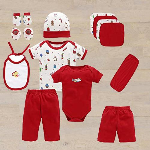 Amazing Gift Set of Cotton Clothes for Babies