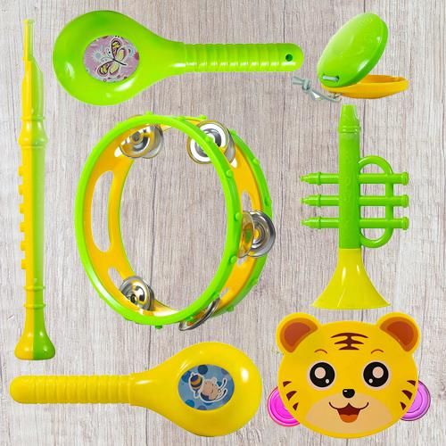 Wonderful Set of Musical Instruments Rattle for New Borns