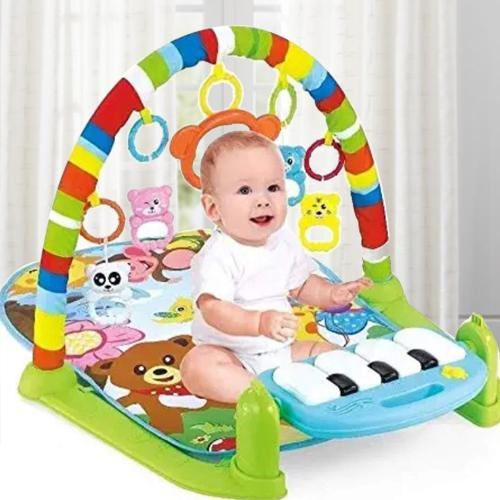 Wonderful Kick and Play Piano, Baby Gym and Fitness Rack