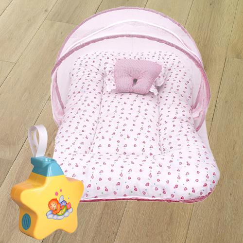 Baby Sleep Projector, Mosquito Net Bed N Baby Sleeping Bag