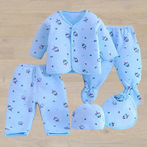 Lovely Fleece Suit for New Born
