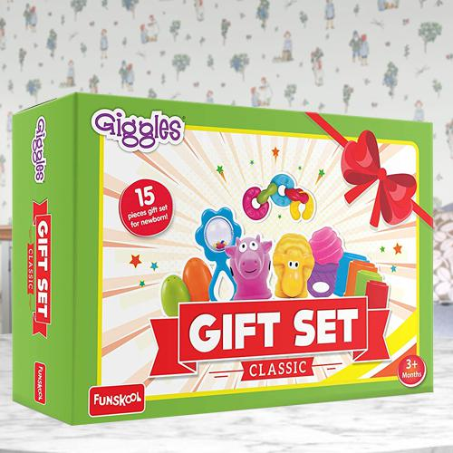 Exciting Funskool Giggles Baby Gift Set