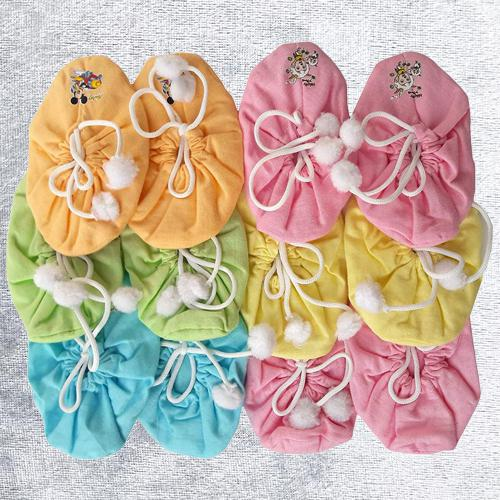 Stunning Set of Bootie for Baby Boy N Baby Girl