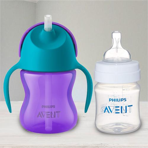 Remarkable Philips Avent Straw Cup N Anti Colic Bottle