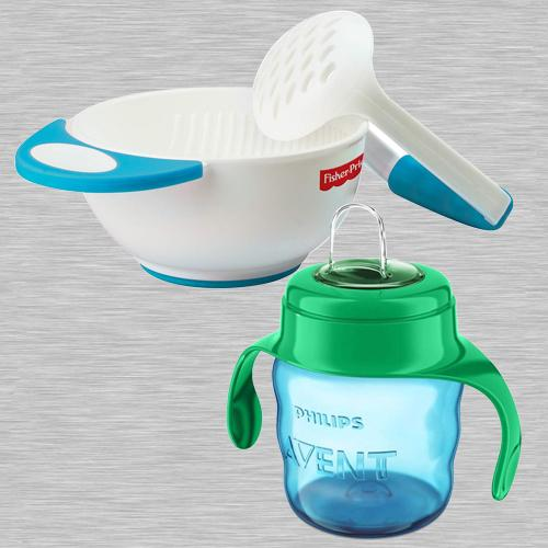 Outstanding Fisher-Price Bowl Set N Philips Avent Spout Cup