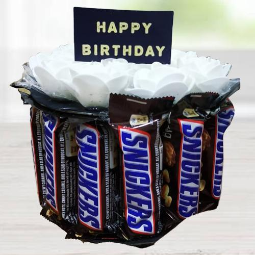 Amusing Snicker Chocolates Arrangement