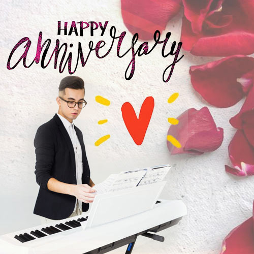 Anniversary Wishes with Melodious Keyboard Tune