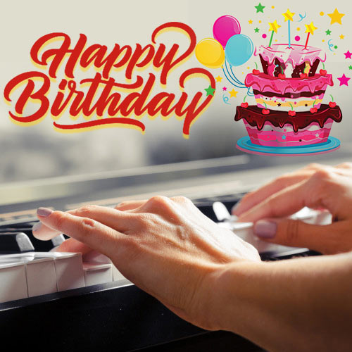Birthday Wishes with Live Keyboard Music