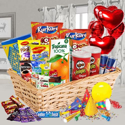 Provocative Mixed Assortments Treat Basket