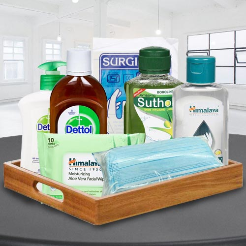 Perfect Safety  N  Hygiene Gift Basket for All