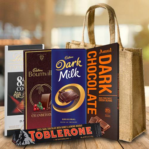 Delicious Dark Chocolates Gift Hamper